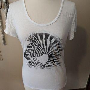 Size Large Zebra Loft Top